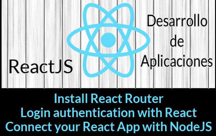 Desarrollo de aplicaciones con ReactJS