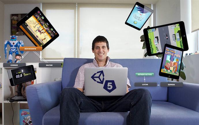 Diseño y Programación de videojuegos con Unity 5
