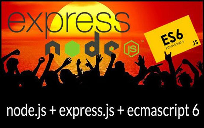 Node.js y Express.js de principiante a experto con ES6